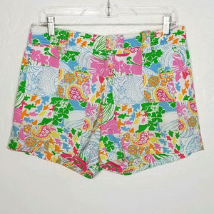 Lilly Pulitzer Floral Shells Shorts